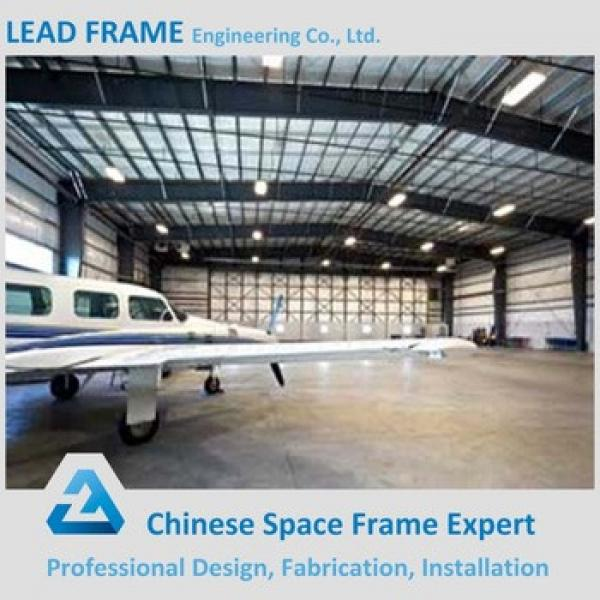 Light Steel Construction Frame Prefabricated Hangar with Low Price #1 image