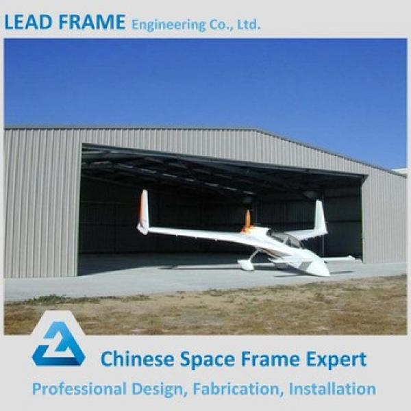 China Large Span Light Steel Frame Low Cost Airplane Hangar #1 image