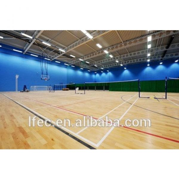 Steel Truss Roofing Material Prefab Sports Hall Structure #1 image