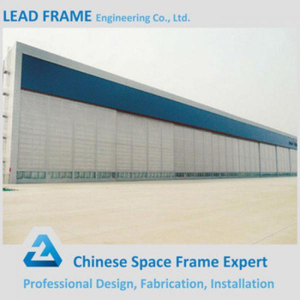 Professional prefab steel space frame hangar #1 image