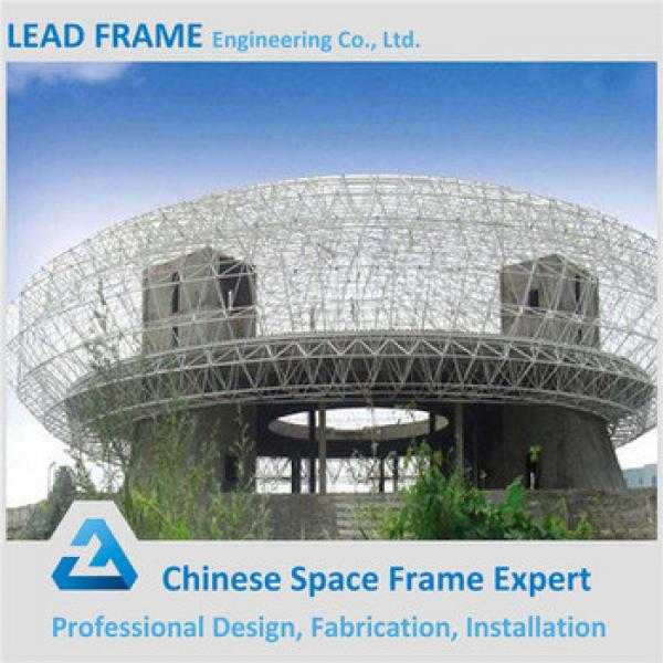 Customized Long Span Space Frame Truss Roof Structure Steel Shade Structure #1 image