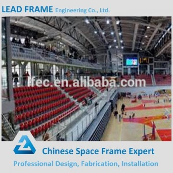 Customized Light Steel Space Frame Prefabricated Gym Building #1 image
