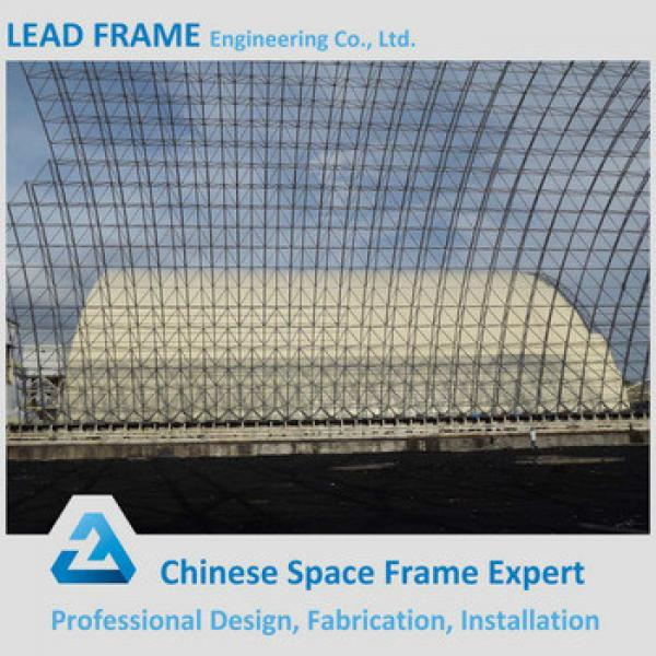 Light Steel Structure Power Plant Metal Shed of Coal Storage #1 image
