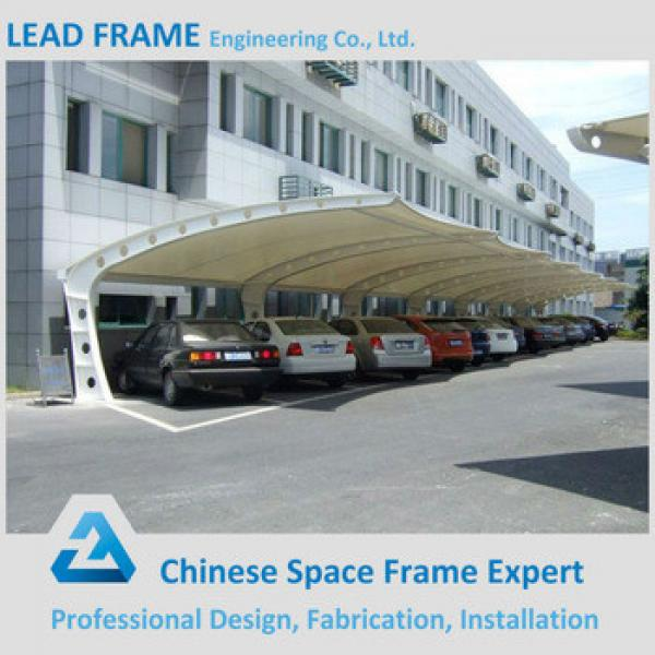 Customized Metal Construction Car Parking Shed #1 image