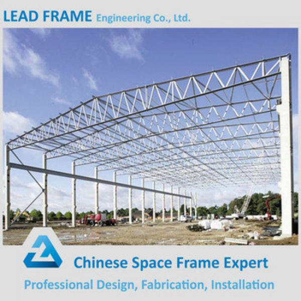 Galvanized Stainless Arched Roof Truss for Steel Building #1 image