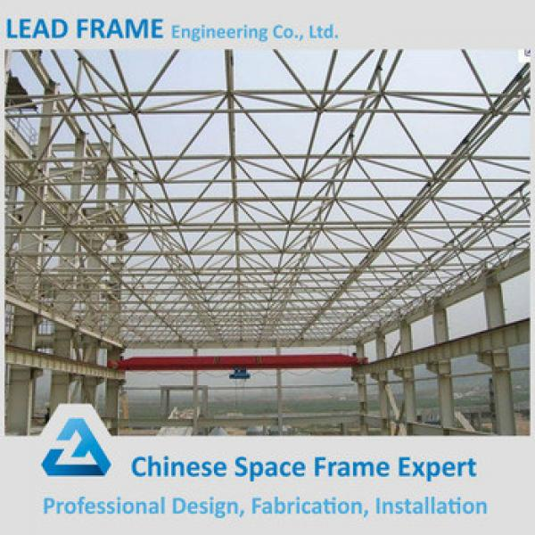 practical design prefabricated steel structure space frame arched roof truss #1 image