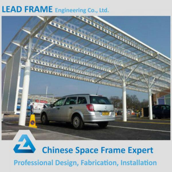 Lightweight Steel Structure Car Canopies Shed Truss #1 image