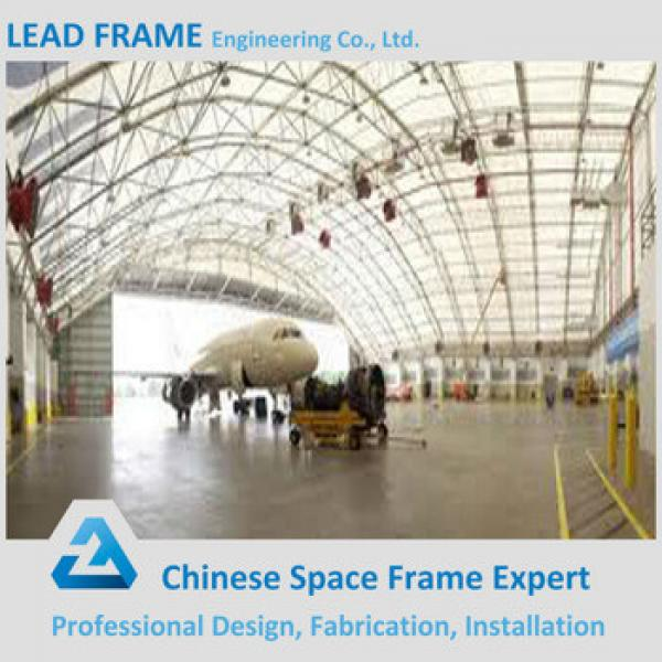 easy assemble prefabricated airplane hangar #1 image