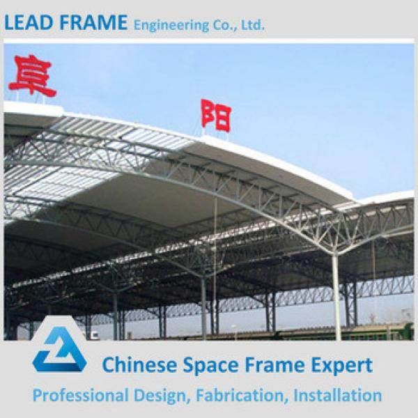 Long span structure steel pipe truss #1 image
