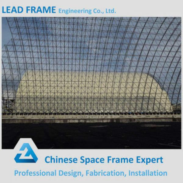 Lightweight Steel Space Frame Power Plant With Storage Building #1 image