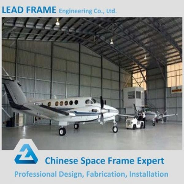 China Galvanized Steel Construction Portable Aircraft Hangar #1 image