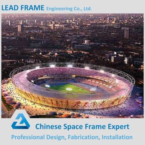 Stadium Roofing Materials Steel Space Frame Building For Stadium Roof #1 image