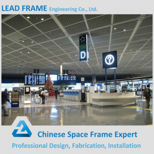 Prefabricated High Rise Steel Building Airport Roofing System #1 image
