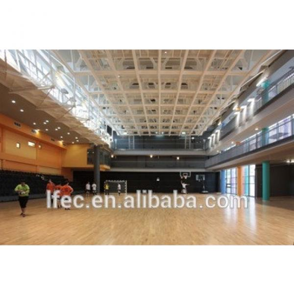 Columnless Long Span Anti-corrotion Steel Structure Frame Stadium Roof Material #1 image