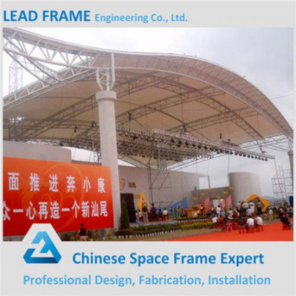 Prefabricated steel space frame roofing with metal structure #1 image