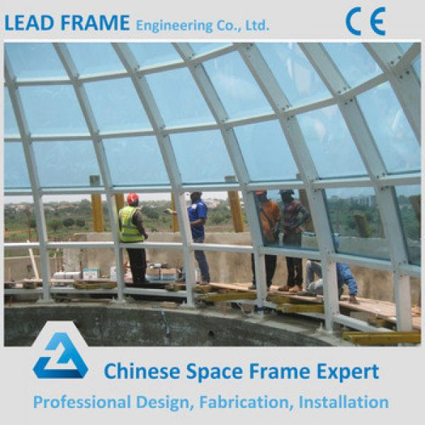 China Supplier Large Size Space Grid Steel Structure Roof Skylight Covers #1 image