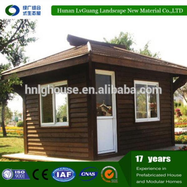 Low cost prefabricated house with wooden small cabin for sale #1 image