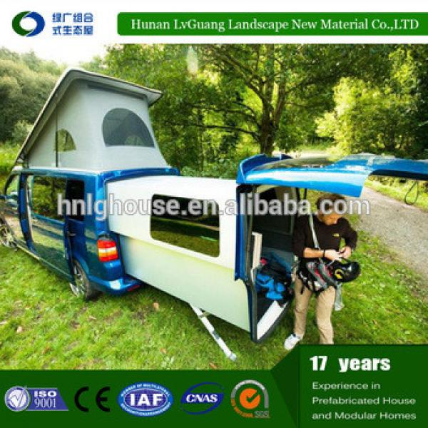 Prefab tiny house on wheels from China manufacture #1 image