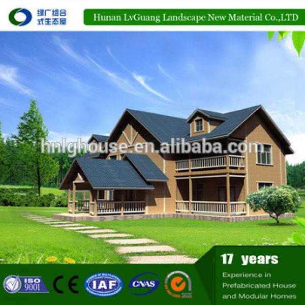 2017 most popular prefabricated log wooden homes #1 image