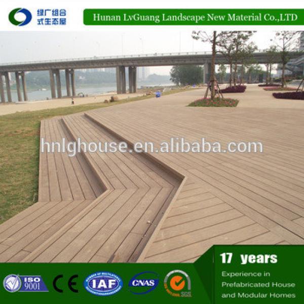 Outdoor composite WPC deck wood engineered flooring #1 image