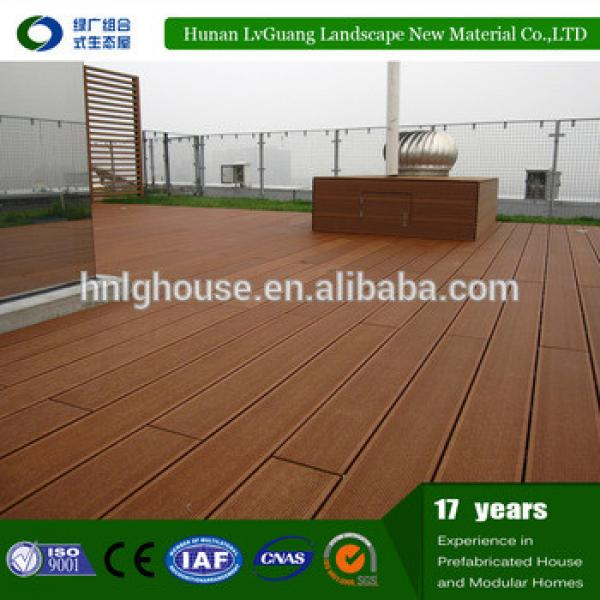 High quality plastic composite wpc wood plank #1 image