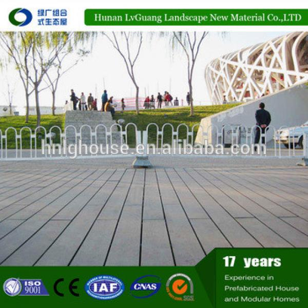 Outdoor wpc wood and plastic composite decking #1 image