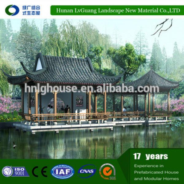 outdoor waterproof louver wooden gazebo 2x4 #1 image