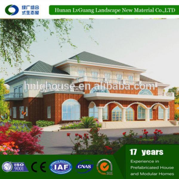 Energy-saving cheap Modular homes Prefab house prefabricated villa #1 image
