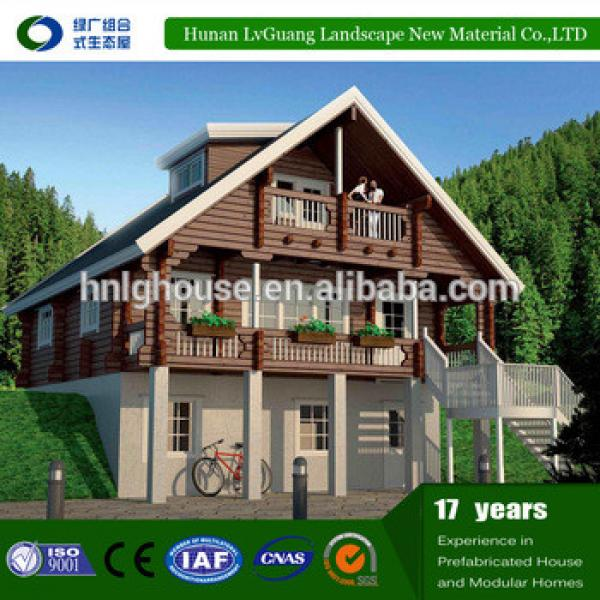 Modular prefabricated wood house price kit price,low cost modern design expandable container house #1 image