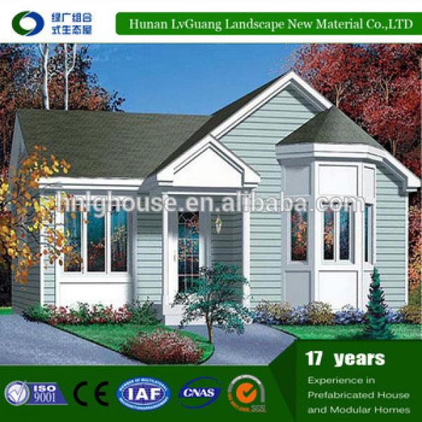 Buy smart prefab wooden green villas house - Qingdao XGZ
