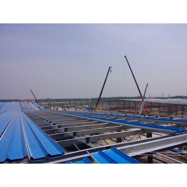 50m span big warehouse prefab house in Srilanka #8 image