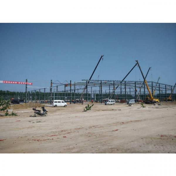 Good quality steel structure warehouse beautiful steel structure workshop #3 image