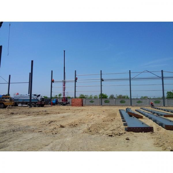 Good quality steel structure warehouse beautiful steel structure workshop #4 image