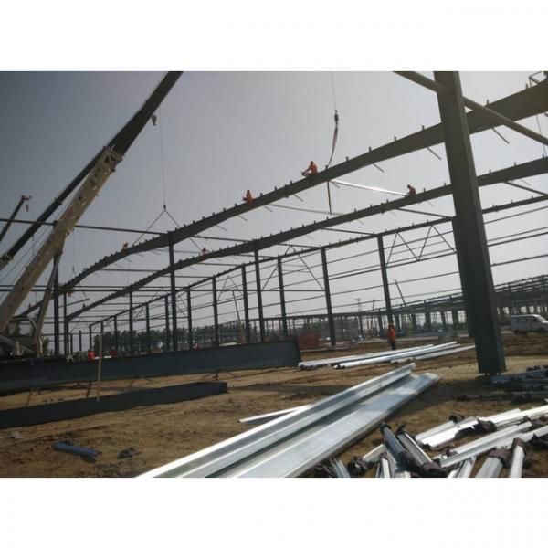 Good quality steel structure warehouse beautiful steel structure workshop #5 image