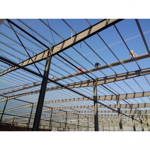 Good quality steel structure warehouse beautiful steel structure workshop #6 image