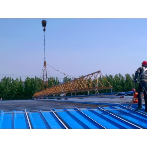 Good quality steel structure warehouse beautiful steel structure workshop #8 image