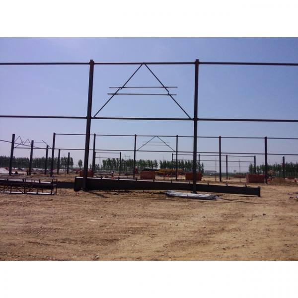 Good quality steel structure warehouse beautiful steel structure workshop #9 image