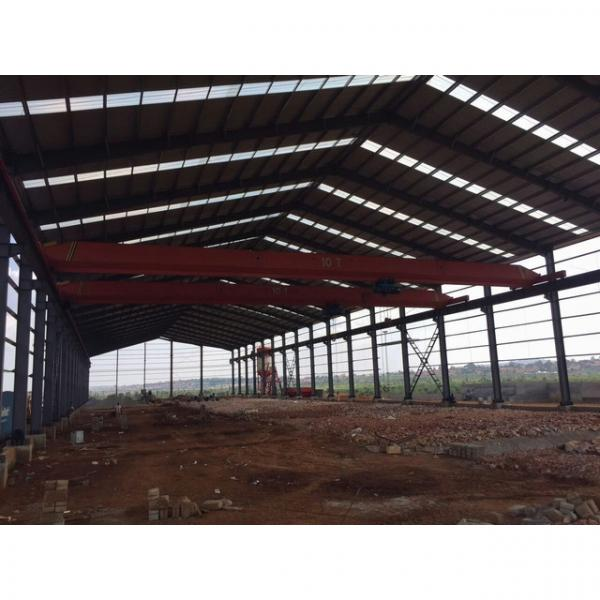 Good quality steel structure warehouse beautiful steel structure workshop #10 image