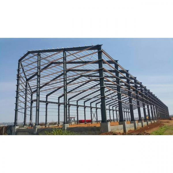 China standard big warehouse prefab house in Srilanka #10 image