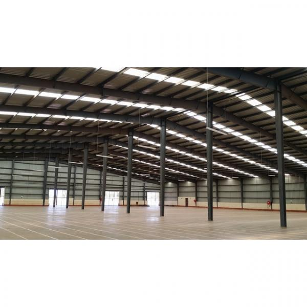 Designed steel structure warehouse rice workshop #1 image