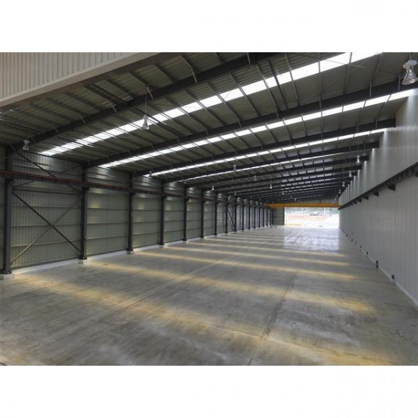 Good quality steel structure warehouse beautiful steel structure workshop #1 image