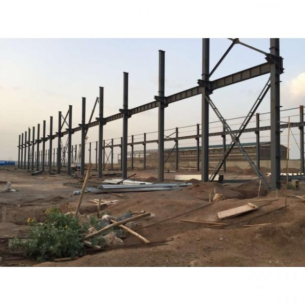 Good quality steel structure warehouse beautiful steel structure workshop #2 image
