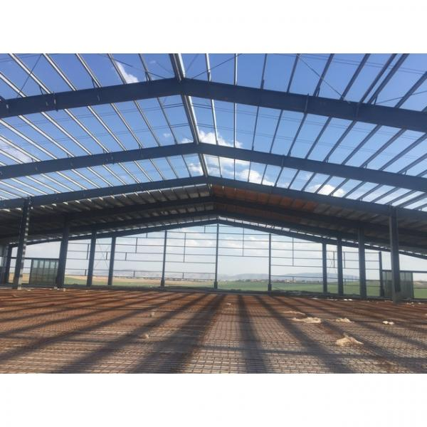High quality steel structure wheat powder workshop #1 image