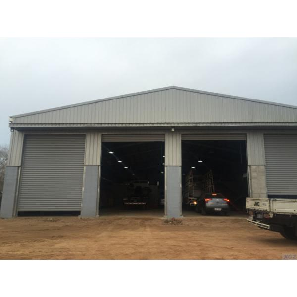 Steel Structure Fabricated Warehouse #1 image