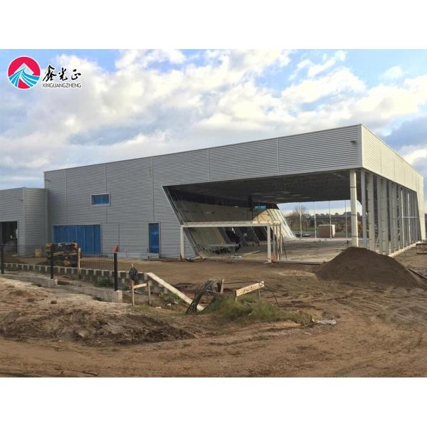 Steel Structure Fabricated Warehouse #4 image