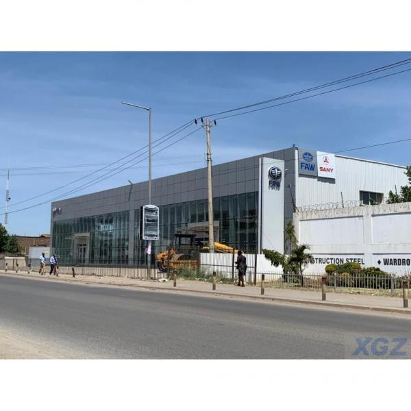 Steel Building Showroom Warehouse #1 image