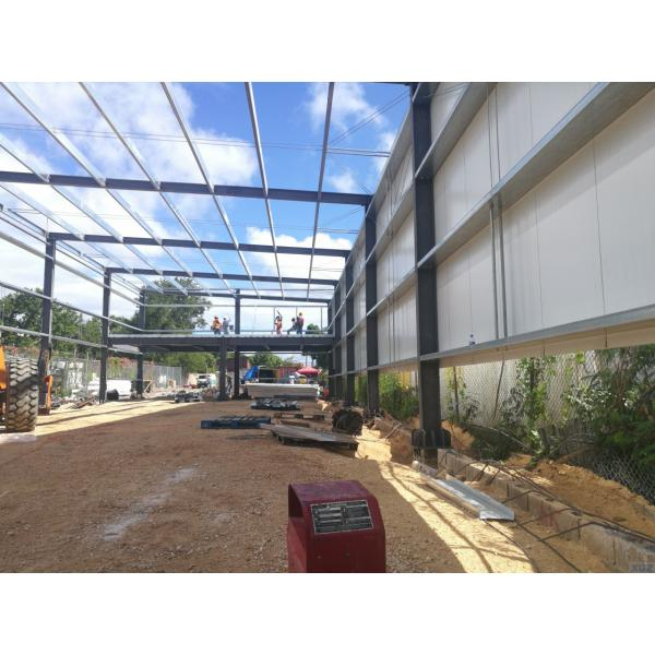 Modern style steel structure warehouse shopping mall