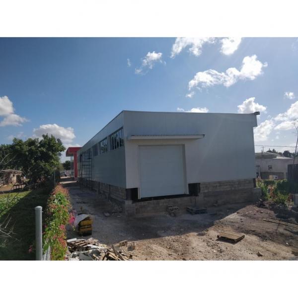 Prefab warehouse steel construction