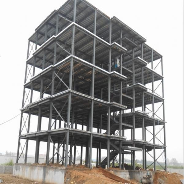 Assemble steel structure warehouse shopping mall #2 image