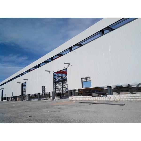 50m span big warehouse prefab house in Srilanka #1 image